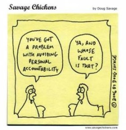 personal accountability chickens