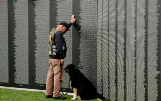 VIETNAM WALL REPLICA GETS MOTORCYCLE ESCORT TO FORT COLLINS FOR MEMORIAL DAY WEEKEND